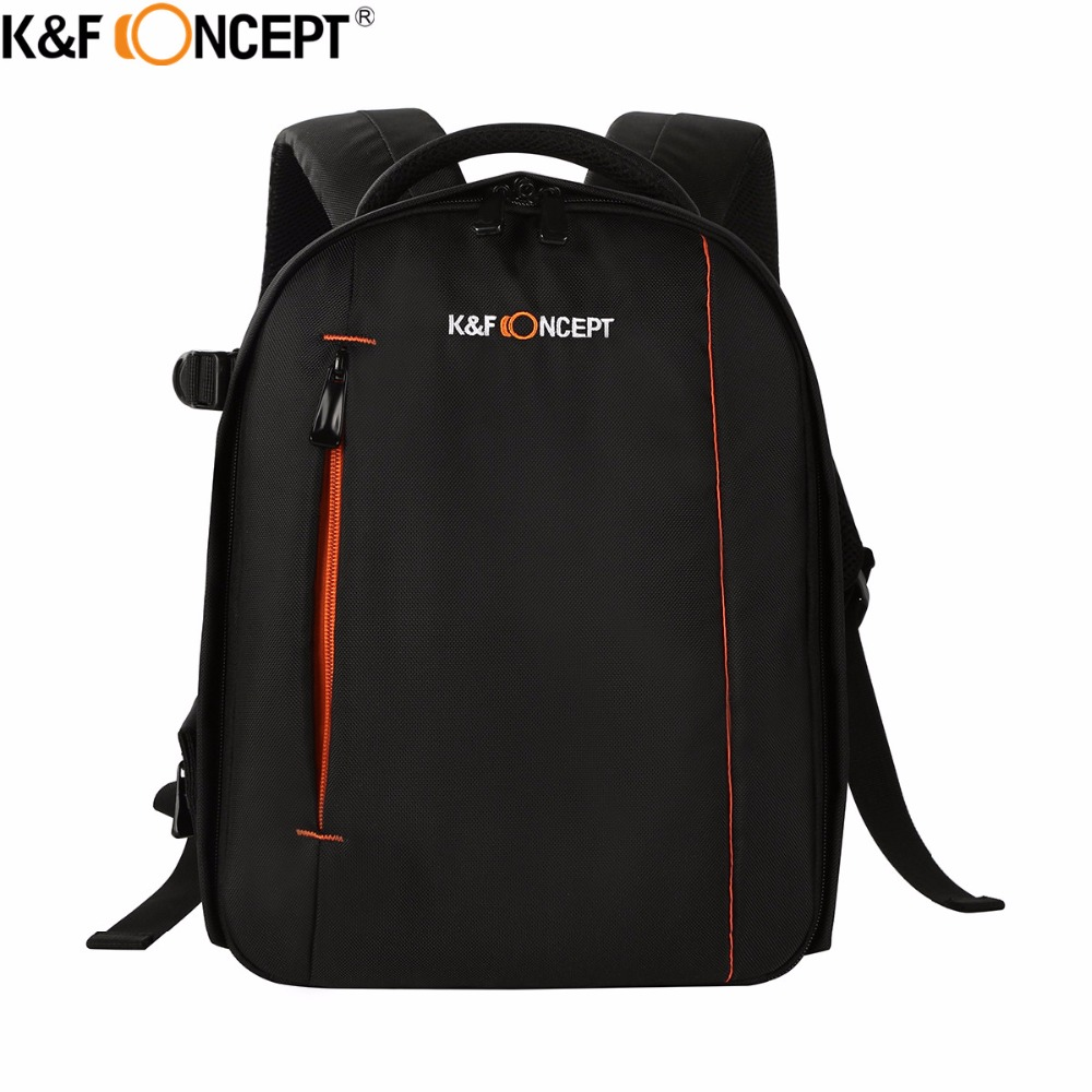K&F CONCEPT Camera Backpack Small Size High Quality Waterproof Business DSLR SLR Bag for Nikon Canon Sony Cameras and Lens