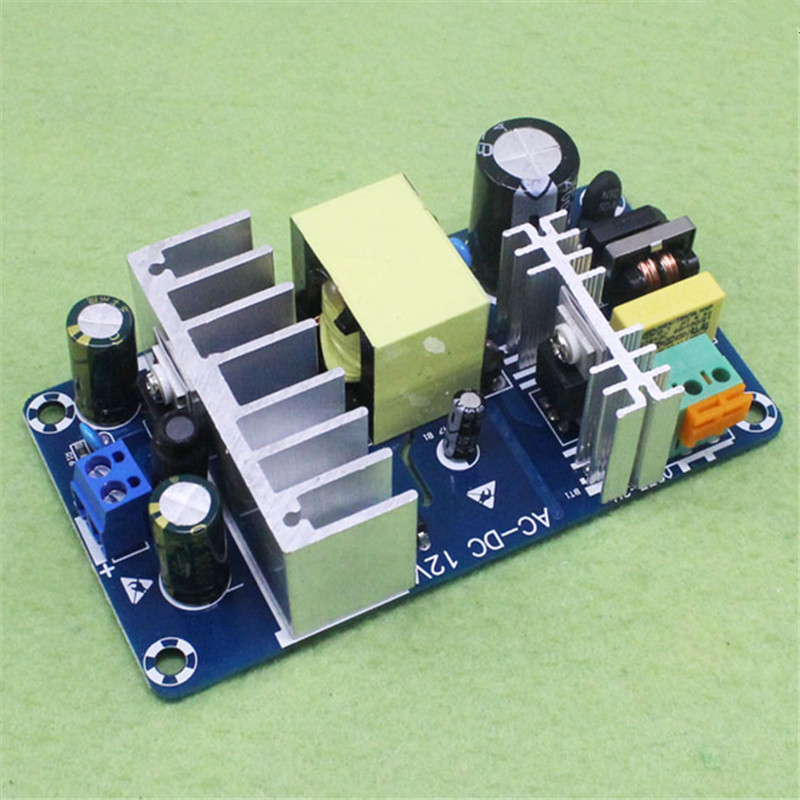 12V high-power switching power supply board AC DC power supply module 12V8A switching power supply module C7B1 ac dc universal dvd 5v 12v switching power supply module exclusively for dvd evd household appliance module