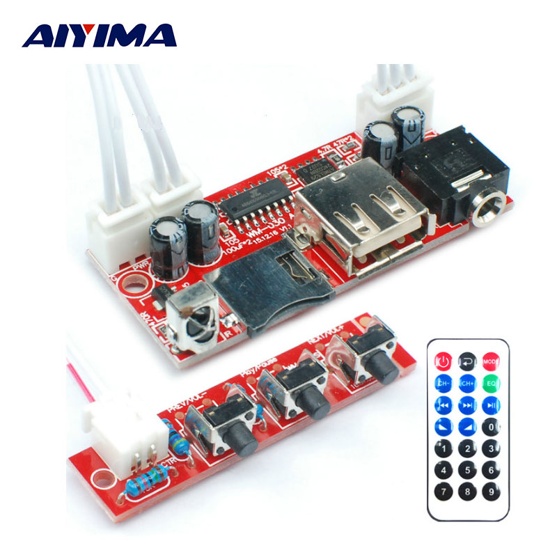 AIYIMA MP3 Player MP3TF Card USB Decoder Module DC 12V5V16V