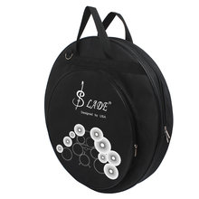High Quality LADE 21-Inch Three Pockets Cymbal Bag backpack with Removable Divider Shoulder Strap Percussion Instrument(China)