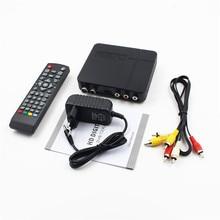 High-definition 1080 P K2 DVB-T2 Digital Terrestre Receptor de TV Box com Multimedia Player H.264/MPEG-2/4 para HDTV TV