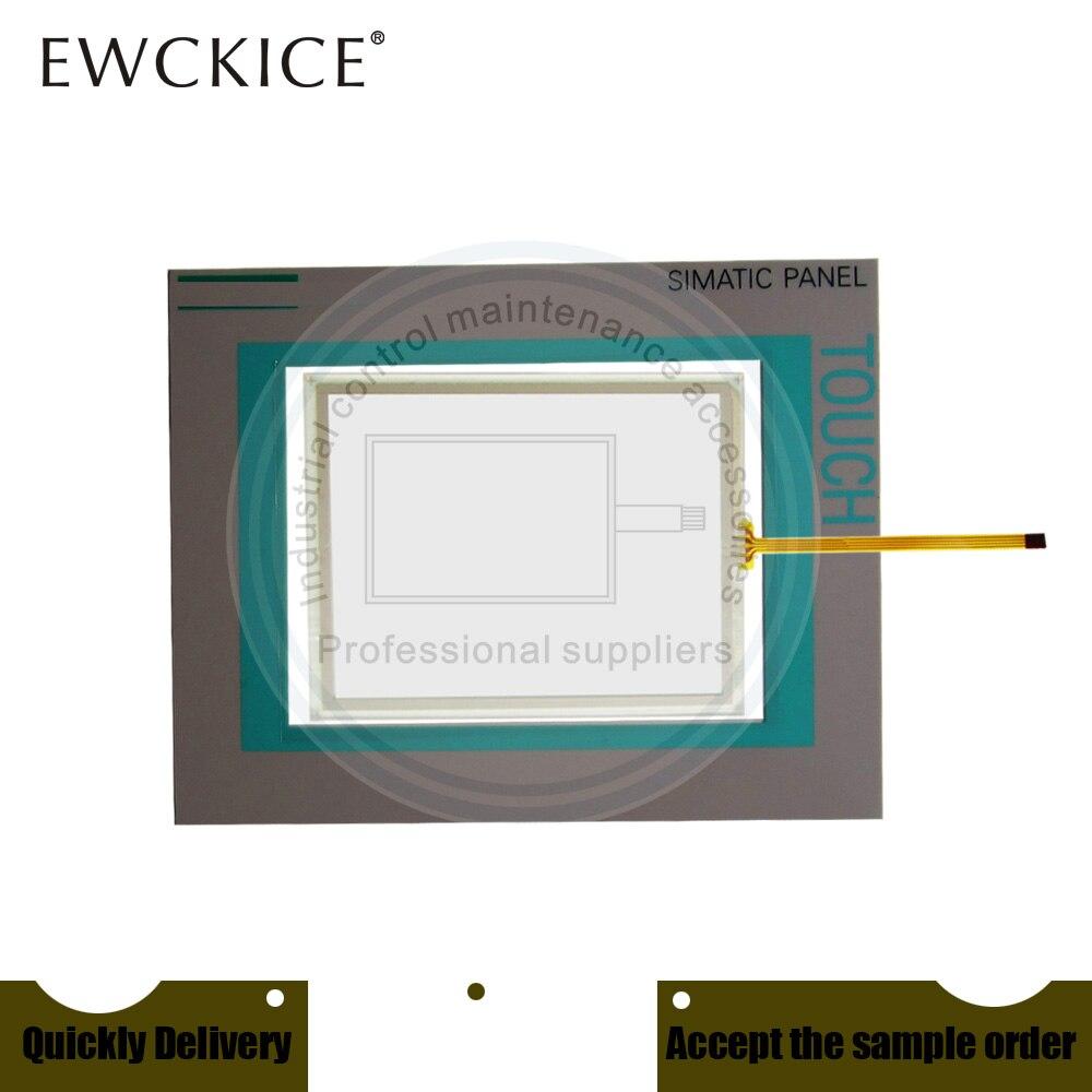 NEW 6AV6 642-0BA01-1AX1 TP177B 6AV6642-0BA01-1AX1 HMI PLC Touch Screen AND Front Label