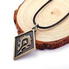 World of Warcraft The Alliance Tribe Union logo necklace