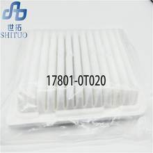 цена 17801-0T020 Car Air filter for Toyota corolla 1.6 auto part air filter