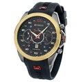 Original curren 8166 novo produto função data japão movt de quartzo de luxo homens mulheres silicone homens esportes relógios Relogio masculino