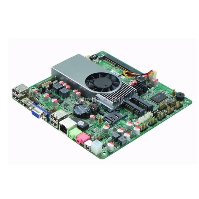 Mini Computador novo l apu itx motherboard hd6250 placa gráfica dc12v fonte de alimentação dc