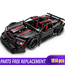 XingBao 07003 Assassin X19 Building Blocks Car Technic Bricks Toys 1814pcs AE86 Car Blocks compatible with Legeo 42083 42056