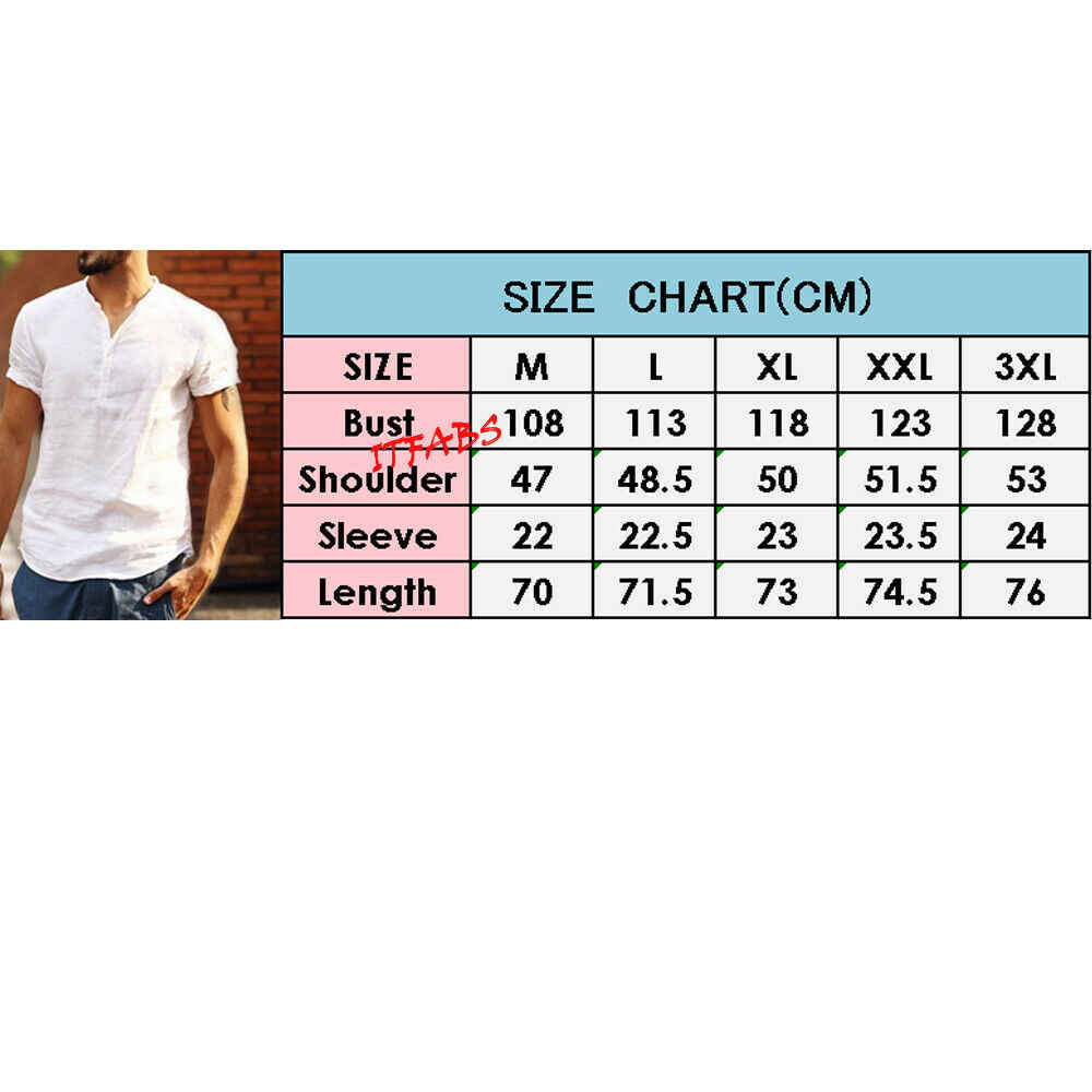 남성 유리한 캐주얼 반소매 여름 셔츠 패션 남성 느슨한 버튼 업 v 넥 셔츠 camisa social masculina