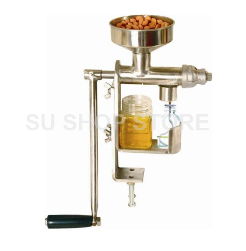 Manual Oil Press Machine Household Oil Extractor Peanut Nuts Seeds Oil Press Machine 110 240v commercial small oil press machine peanut sesame cold press oil machine high oil extraction rate cheap price