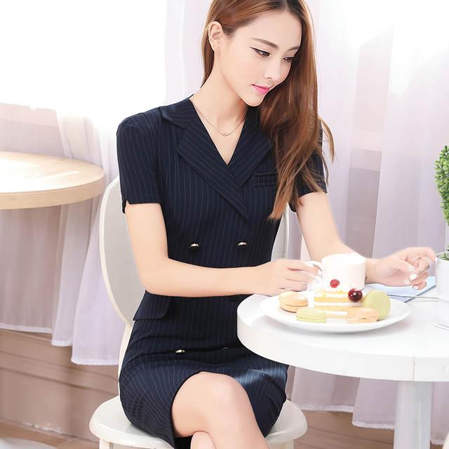 ef742ca81c Summer office dress Women elegant Business work wear Dress Elegant Formal  Dresses sexy party dresses plus