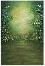 Floral do Conto de Fadas Floresta Mystical Fundos Fotografia Vinil cenários de pano de Alta qualidade Computador impresso das crianças das crianças