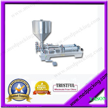 1000–5000ml double heads peanut sauce Cosmetic Automatic Filling Machine  YS-110v GRIND