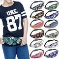 Bolsos de la cintura Floral 3D Hombres Mujeres Paquete Hip Casual Caramelo Mochila de Nylon de Viaje Grande Unsex Ejército Cartera de Viaje de La Cintura Packs