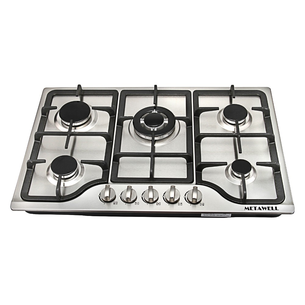 Metawell 30inch Stainless Steel 5 Burners Built In Gas Cooktop Stove Lpg Natural Hob Cooktops From Home Liances On Aliexpress Alibaba Group