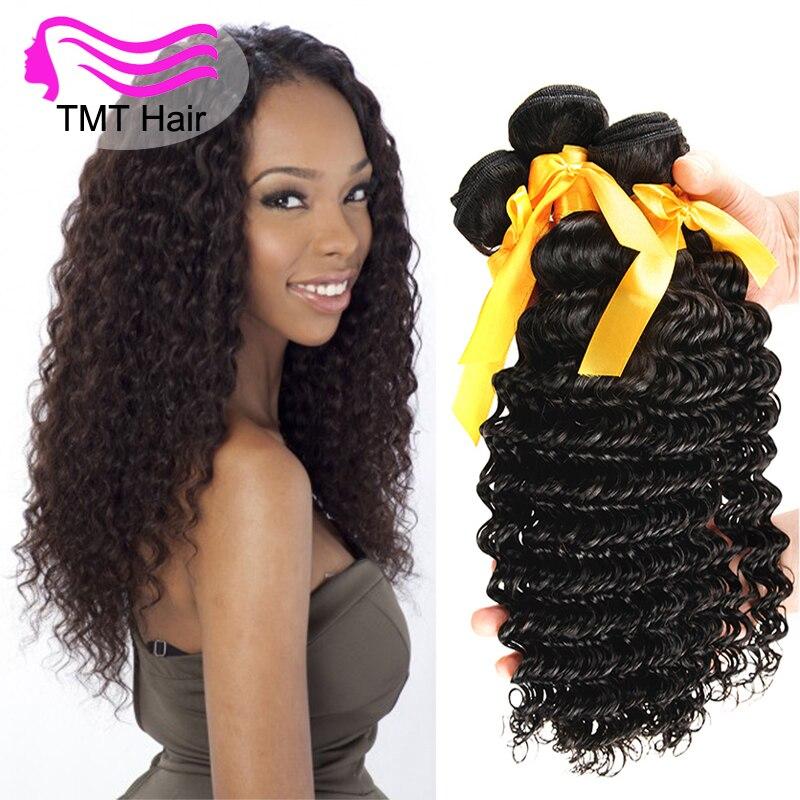 Tmt Malaysian Deep Wave Virgin Hair 3 Bundles 8 10 12 14