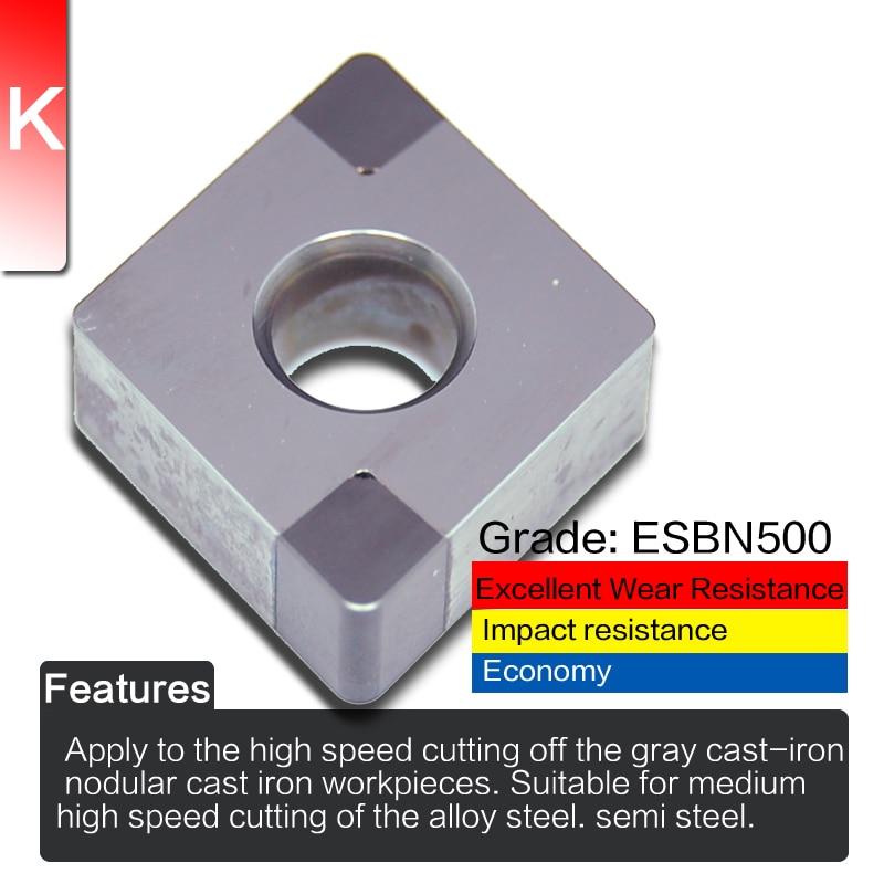 EDGEV 2 sztuki Azotek boru Wkład CBN CNGA120404 CNMG120408 lub - Obrabiarki i akcesoria - Zdjęcie 3