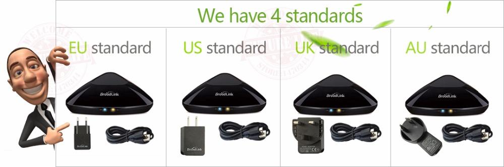 Broadlink RM3 RM Pro/RM mini3 Automatyki Inteligentnego Domu Uniwersalny Inteligentny Pilot WIFI + IR + RF Przełącznik dla iOS Android 10