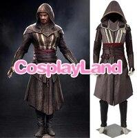 Assassin Creed Каллум Линч Агилар Косплэй костюм игра карнавальные костюмы на Хэллоуин для Для мужчин индивидуальный заказ