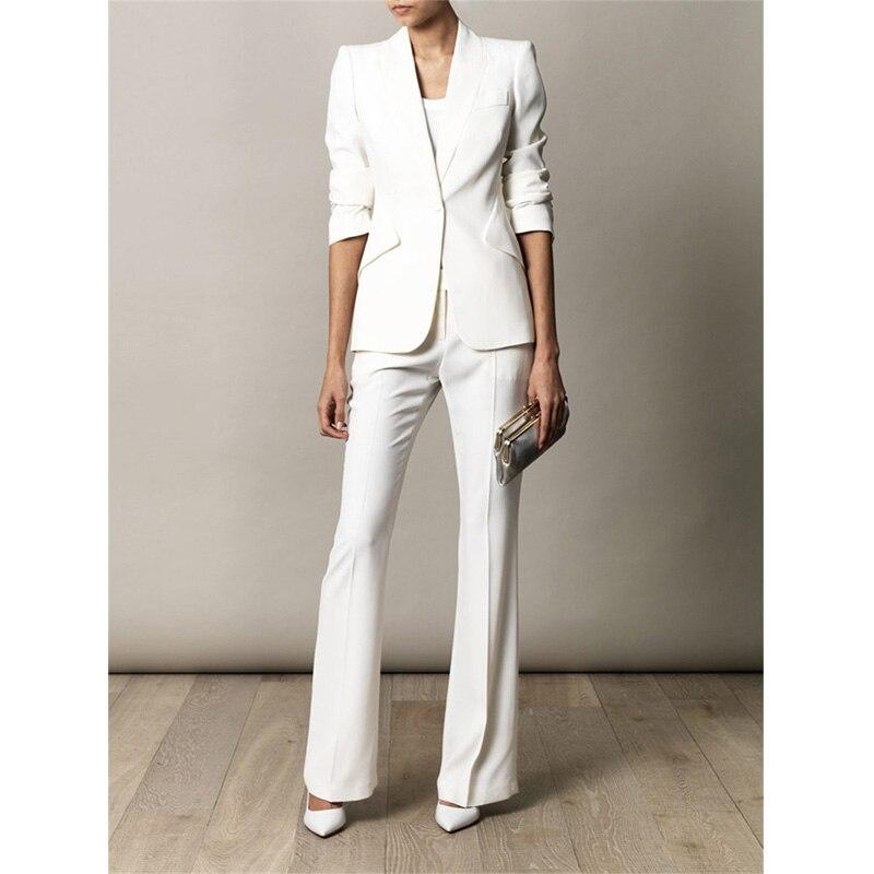 Pantalon Femmes D'affaires Mesure Costumes Uniformes Mariages Femelle Bureau Slim As Dame Pour Fit Sur Picture Conçu Formel rqxv0wn1Rr