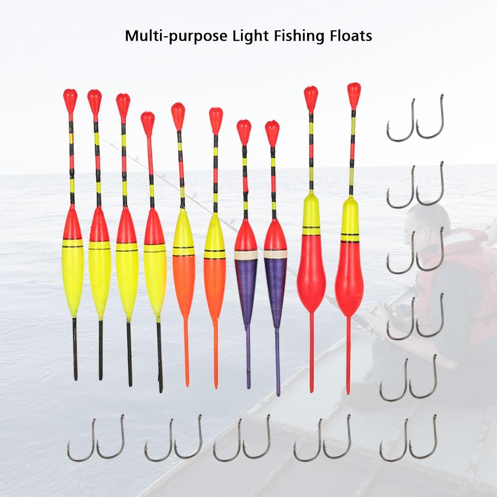 FISHING POLE FLOAT TIPS ANTENNA 5 Types Set