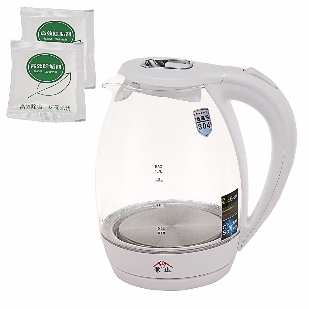 Uncategorized 220v Kitchen Appliances 220v blue led borosilicate glass electric kettle automatic high kitchen appliances with auto off function quick heat in electr