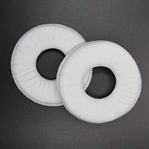 White Replacement Ear Pads Cushion for Sony MDR-V150 V200 V250 V300 V400 MDR-ZX100 ZX300 ZX110 Headset