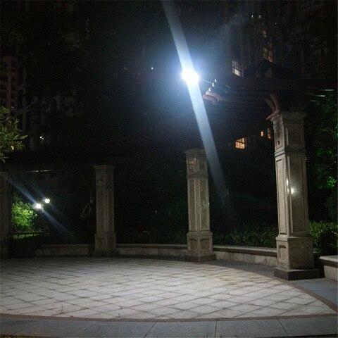 lampada solar sensor movimento led lampada parede ao ar livre
