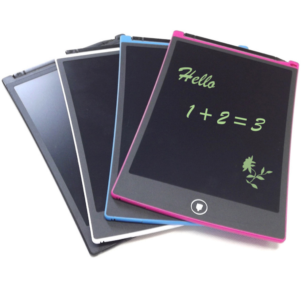 4 Inch. Re-Writable LCD Pad