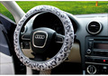 fashion  Car Steering Wheel Cover Breathability Skidproof Universal Fits Most Car Styling Steering Wheel