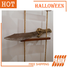 Blood Knife decoration items mall theater sets bar room haunted Horror Halloween props tricky personality Halloween Knife