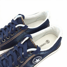 Women Fashion Sneakers Denim Canvas Shoes Star Summer Casual Shoes Trainers Walking Skateboard Flats Tenis Chaussure Femmes 44