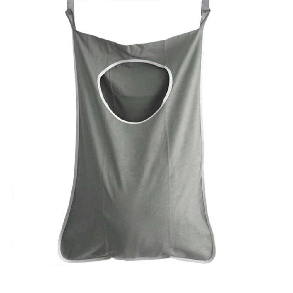Pendurado Roupa Suja Cesto de roupa suja Sobre a Porta Grande Capacidade Saco de Pano Saco De Armazenamento Organizador Banheiro Portátil Durável