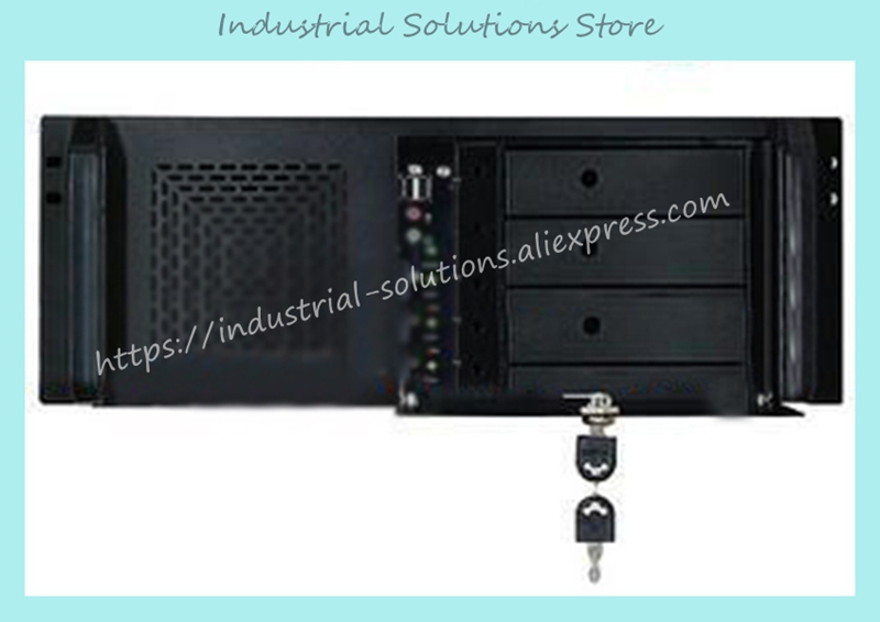 NEW 4u 450 standard computer case 4u server computer case 4u industrial computer case 7 hard drive new ultra short 3u computer case 38cm 8 hard drive pc large panel big power supply 3u server industrial computer case