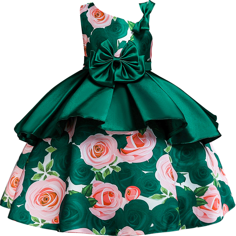 Princess   Flower     Girl     Dress   Gorgeous Wedding Birthday Party Kids   Dresses   For   Girls   First Communion Children's Costume   Girls     Dress
