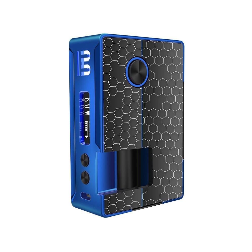 Blitz Vigor 81W TC Squonk MOD avec bouteille en Silicone 10ml et 0.91 pouce OLED écran puissance par 18650/20700 boîtier de batterie mod vs RSQ Mod - 3