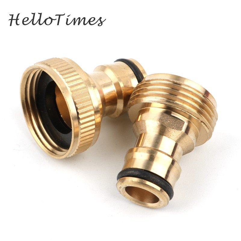 Blue Garden Water Hose Pipe Tap Quick Connector Tube Fitting Adaptor Female