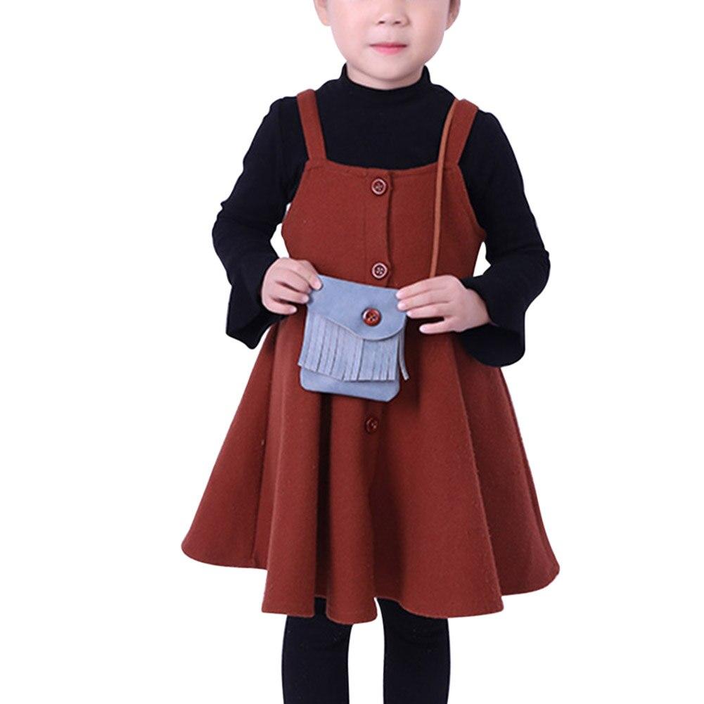 Herrenbekleidung & Zubehör Gutherzig Geschenk Für Kind Koreanische Kinder Mini Umhängetasche Pu-leder Quasten Buckled Süße Kinder Mädchen Casual Messenger Bags Popular Diversifizierte Neueste Designs