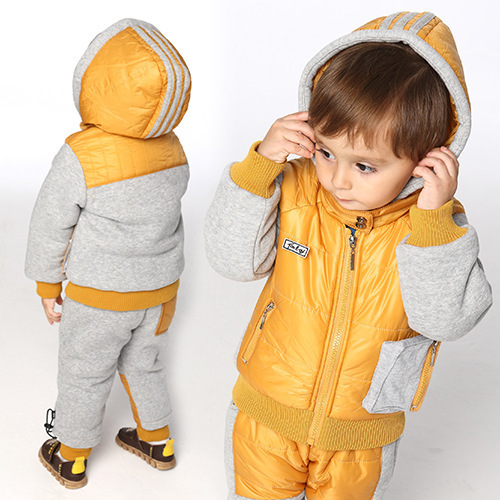 2016 Time-limited Real free Shipping Children Winter Ski Clothes European Versionbaby Clothing Explosion Models Baby Cotton Suit