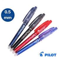 Pilot FriXion Erasable Pen Rollerball Needle Baile Erasable Pen 0 5mm BL FRP5 Japan Blue Black