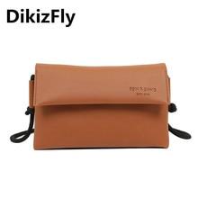 цена на DikziFly casual small crossbody bags new PU leather ladies hand bag shoulder bags for women 2019 purse bolsa feminina sac a main