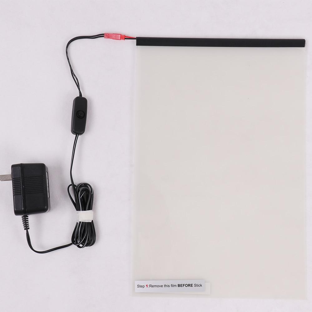 A4 blanc intelligent PDLC teinte intelligente fenêtre Film puissance fenêtre électrochromique Film commutable verre vinyle