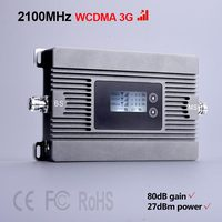 High Power Mini 2100mhz 3G Mobile Signal Booster 80dBi Signal Repeater 3g WCDMA Cellular Signal Amplifier