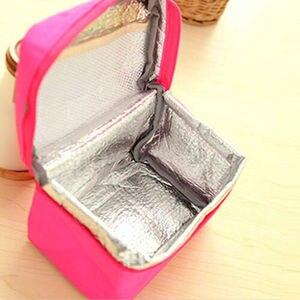 Image 5 - Tragbare Thermische Isolierte Kühler Picknick Mittagessen Taschen Reise Carry Lagerung Tote Tasche