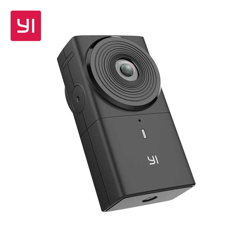 YI 360 Camera VR Cam Digital Camera 220 degree Dual Lens 5.7K/30fps Immersive Live stream Effortless Panoramic Camera все цены