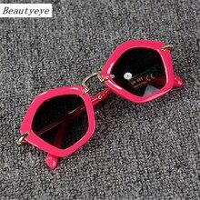 beautyeye Fashion Kids Child Coating Sunglasses Brand Designer Camellia High Qua
