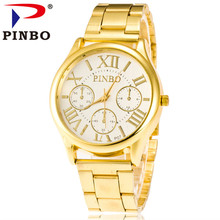 ФОТО 2017 hot sale  fashion gorgeous women   stainless  casual  quartz momen watch relogio stainless simulation men watches