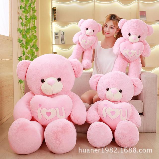 giant cute teddy bear doll bear plush toy love the valentine s day