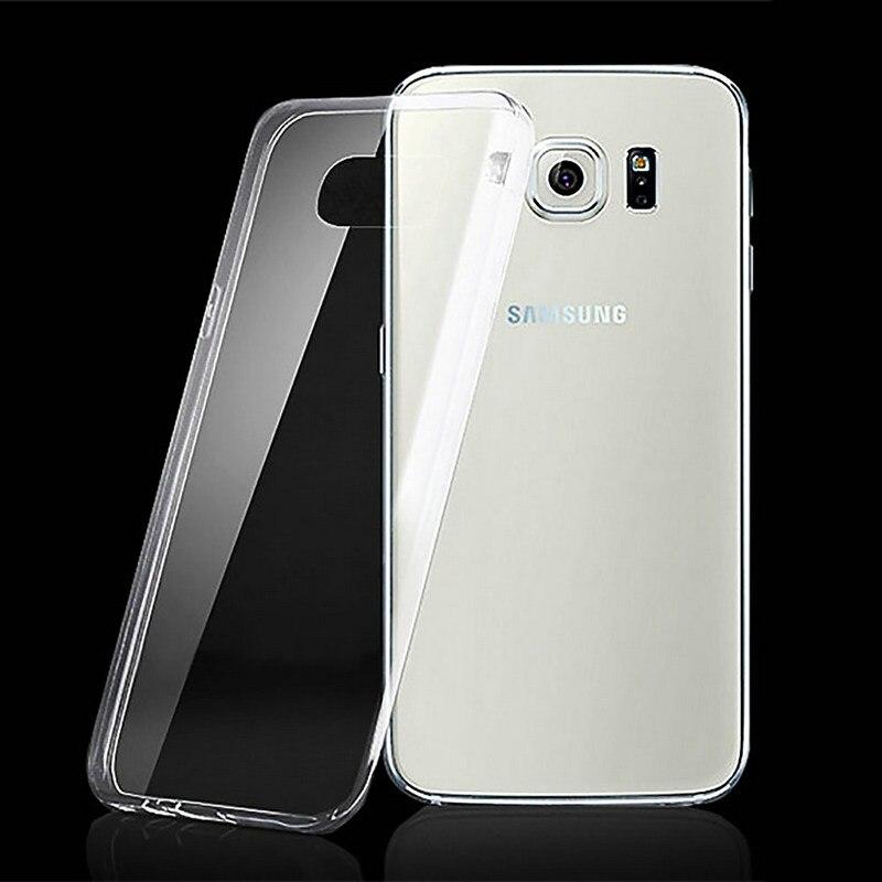 Чехол для samsung S7 край мягкая прозрачная крышка 0,5 мм супер тонкий силиконовый телефон случаях кожного покрова для samsung Galaxy s7 край чехол