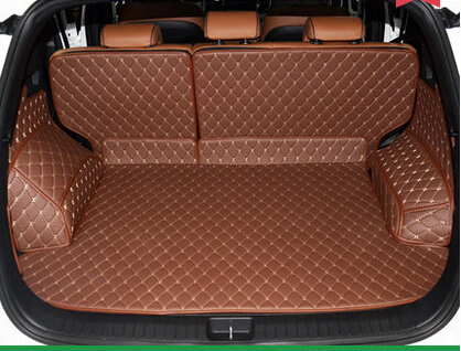 Customized full surrounded car trunk mats for KIA KX5 waterproof Easy to clean boot carpets for KIA KX5