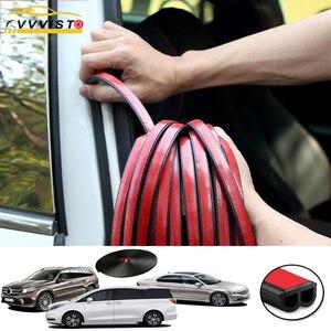 Image 1 - Araba Styling kapı contası gezileri gövde ses yalıtımı su geçirmez sızdırmazlık araba Styling etiketler evrensel otomobil İç aksesuar